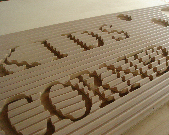 木材カット加工